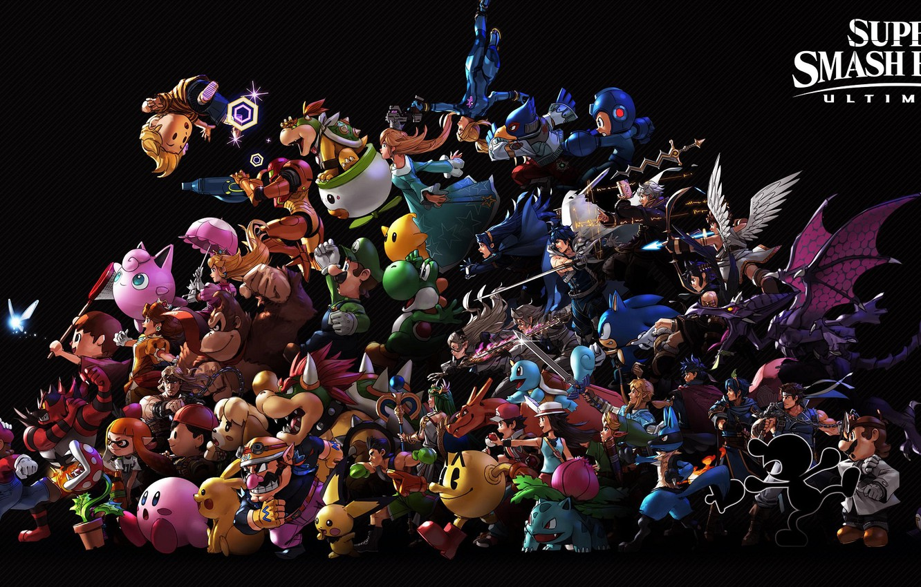 Wallpaper The Game Characters Super Smash Bros Super Smash Bros