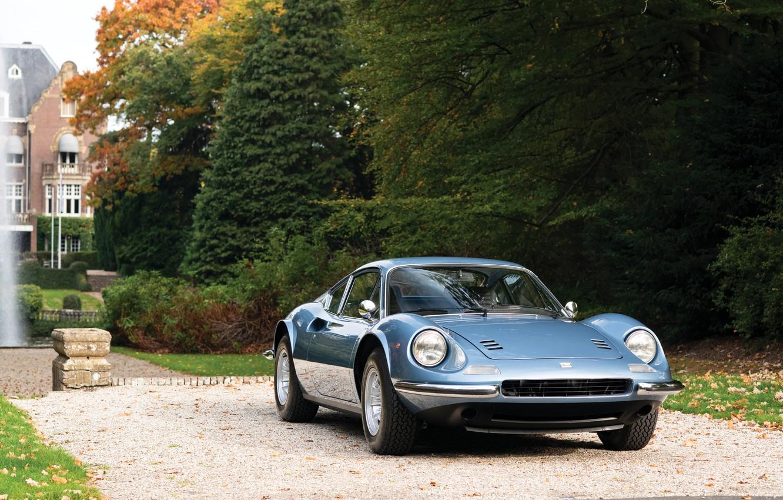 Photo wallpaper Classic, Retro, Sportcar, Ferrari Dino