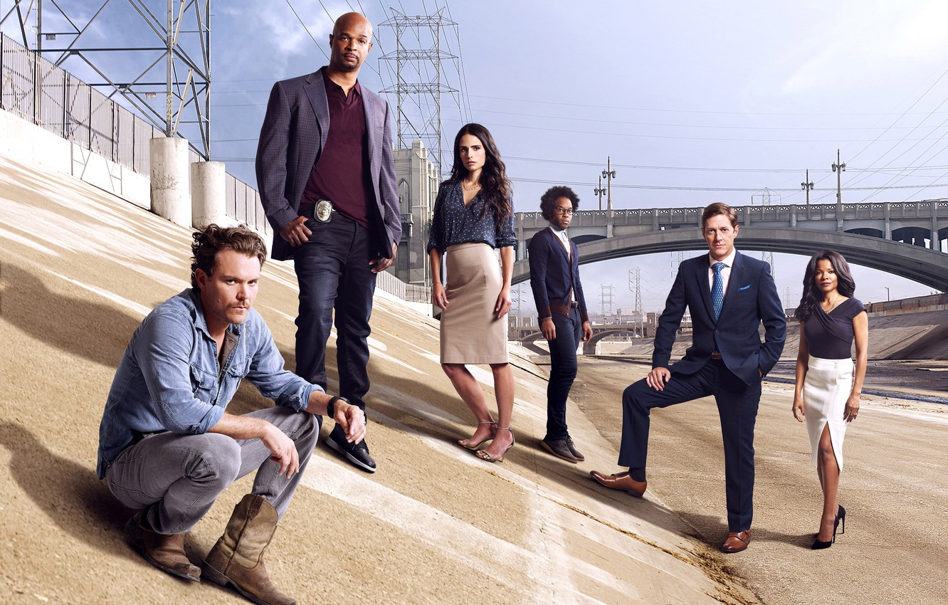 Photo wallpaper Jordana Brewster, Los Angeles, Lethal Weapon, Klein Crawford, Damon Wayans, Lethal weapon, Keisha Sharpe