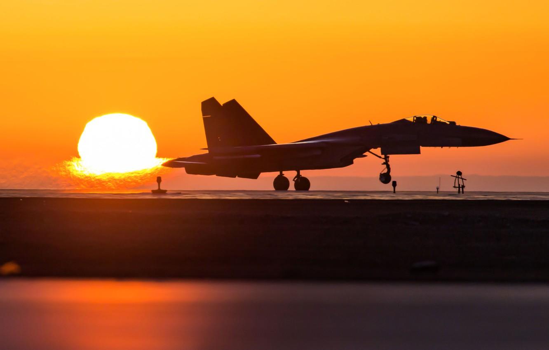 Photo wallpaper fighter, weapon, jet, Su-27, Shengyang J-11, J-11, Chinese Su-27