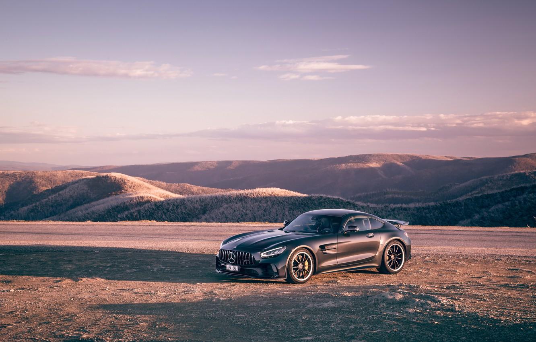 Photo wallpaper Mercedes-Benz, AMG, AU-spec, GT R, 2019