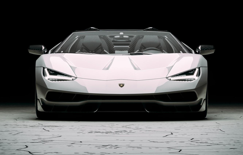 Photo wallpaper Auto, Lamborghini, Machine, Supercar, Rendering, The front, Sports car, Lamborghini Centenary, Centennial, Transport & Vehicles, …