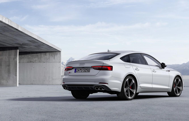 Photo wallpaper Audi, Audi A5, the five-door, 2019, S5 Sportback