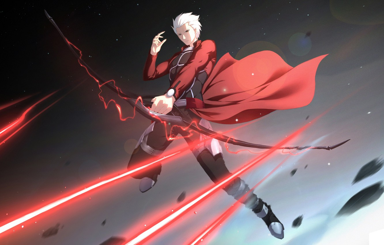 Photo wallpaper bow, guy, Archer, Fate stay night, Fate / Stay Night