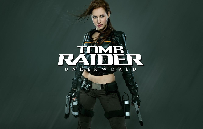 Photo wallpaper Tomb Raider, Lara Coft, Cosplay, Tomb Raider underworld