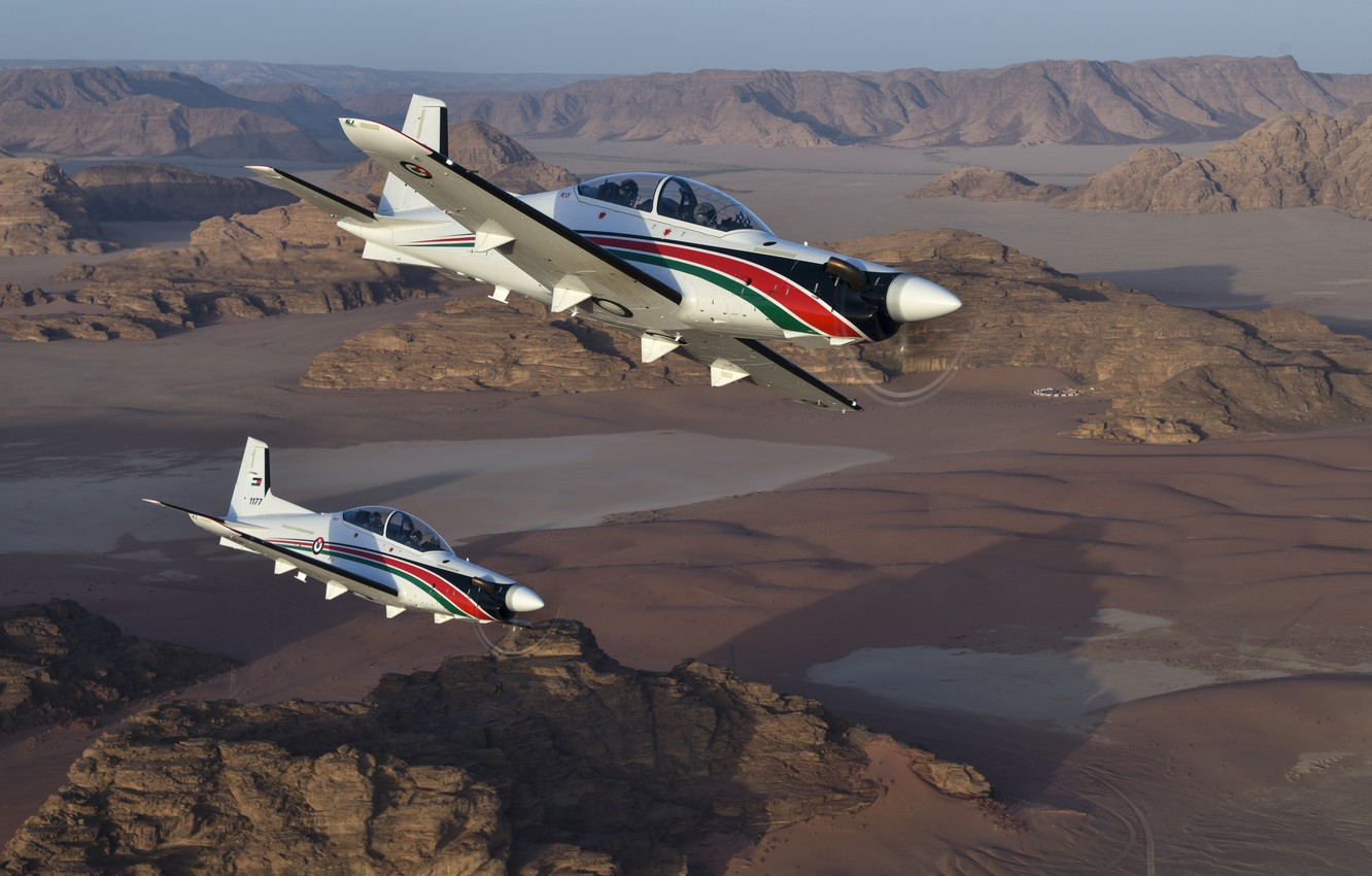 Photo wallpaper the plane, Pilatus, Pilatus PC-21, PC-21