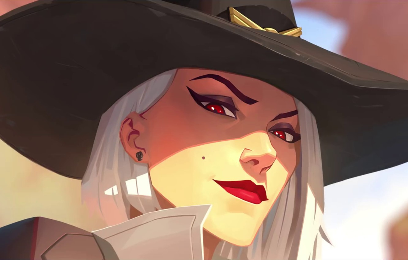 Photo wallpaper Game, Ashe, Overwatch