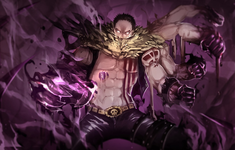 Photo wallpaper man, hands, guy, One Piece