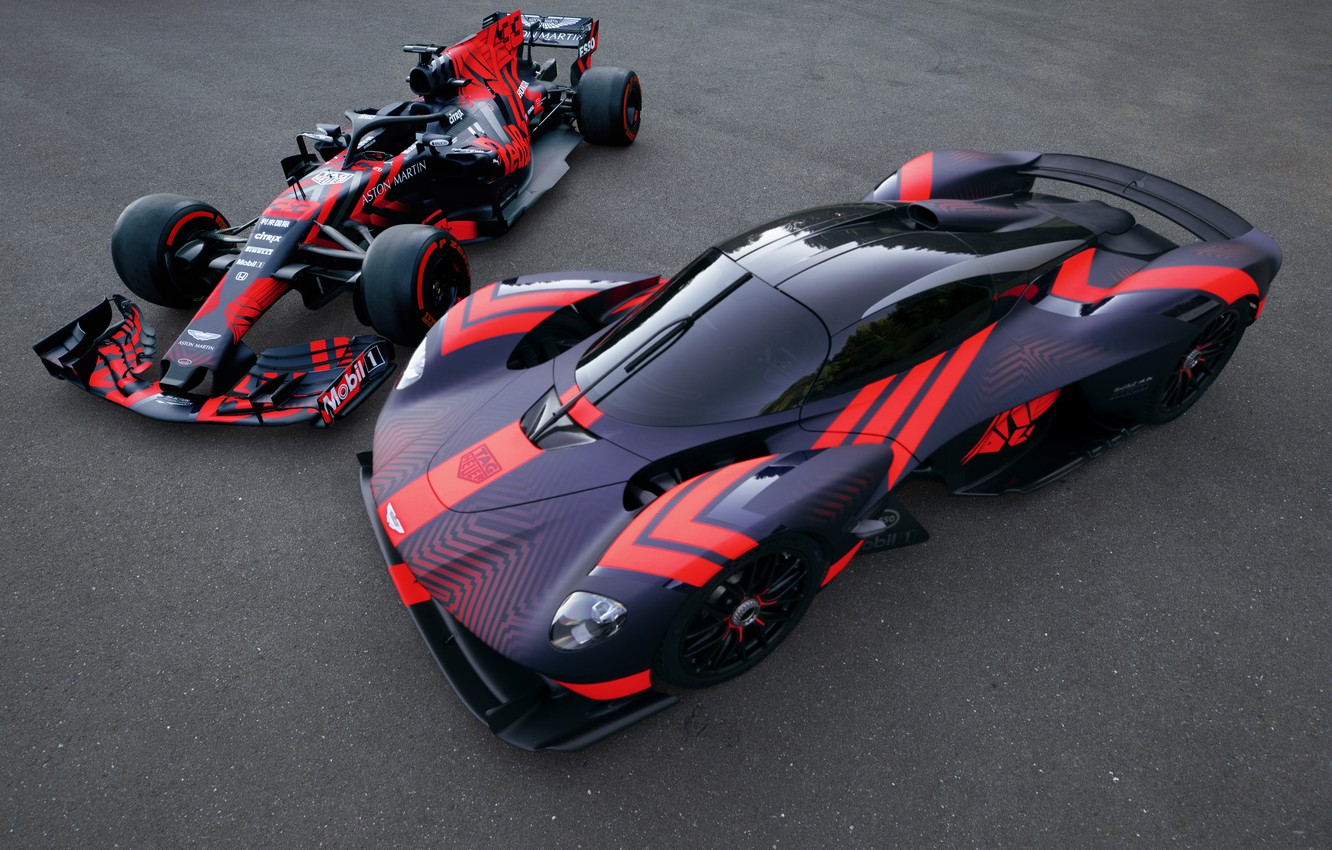 Wallpaper Aston Martin The Car Track Formula 1 Hypercar Valkyrie Red Bull Racing Images For Desktop Section Aston Martin Download
