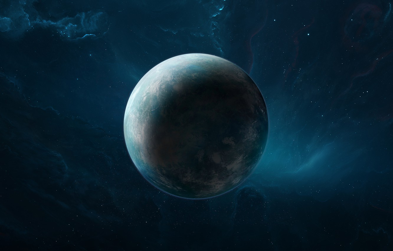 Photo wallpaper Stars, Planet, Nebula, Stars, Space, Art, Planet, Science Fiction, by Brian Hagan, Brian Hagan, background …