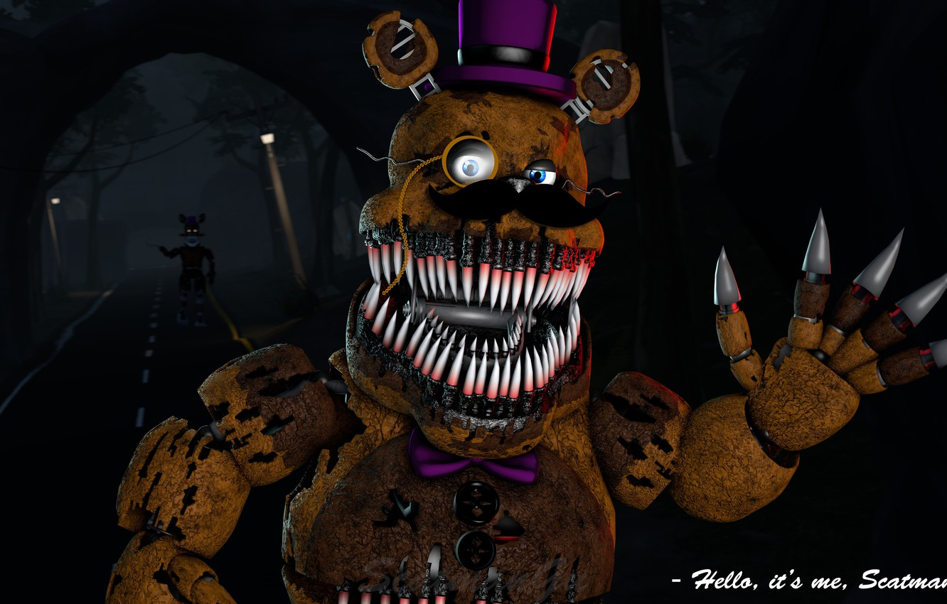 Wallpaper Rust Five Nights At Freddy S Mechanical Doll Five