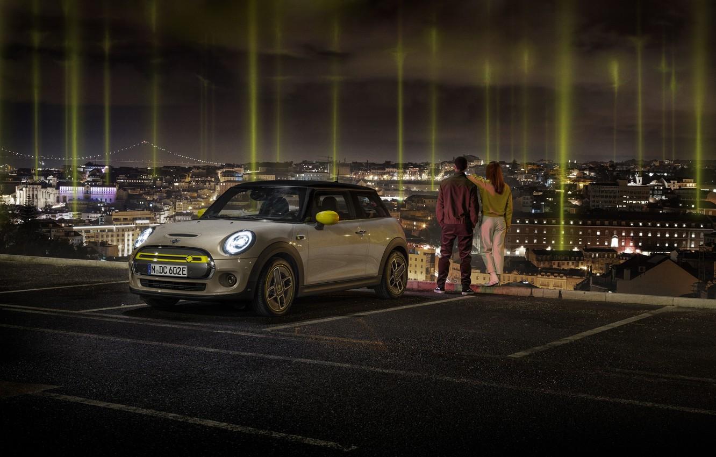 Photo wallpaper Cooper, MINI, Mini, MINI Cooper SE, all-electric car, premium electric hatchback, British premium brand
