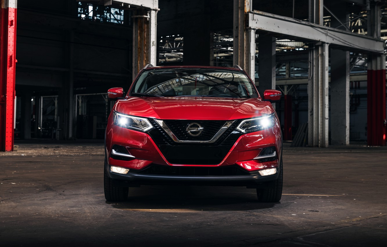Photo wallpaper Nissan, front view, Rogue, Sport, crossover, 2019