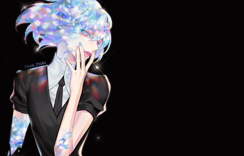 Photo wallpaper girl, background, Shine, House no Kuni, Country Gems
