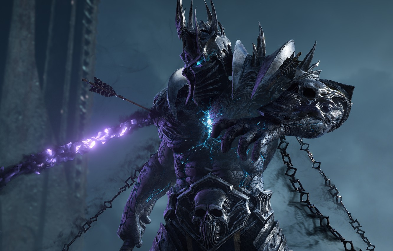 Wallpaper Chain Lich King Blizzard Entertainment World Of