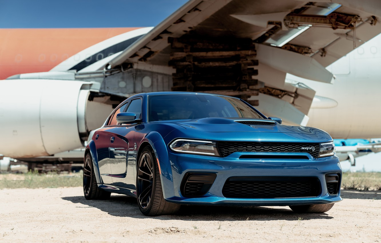 Photo wallpaper Dodge, Charger, Dodge Charger, Hellcat, SRT, Widebody