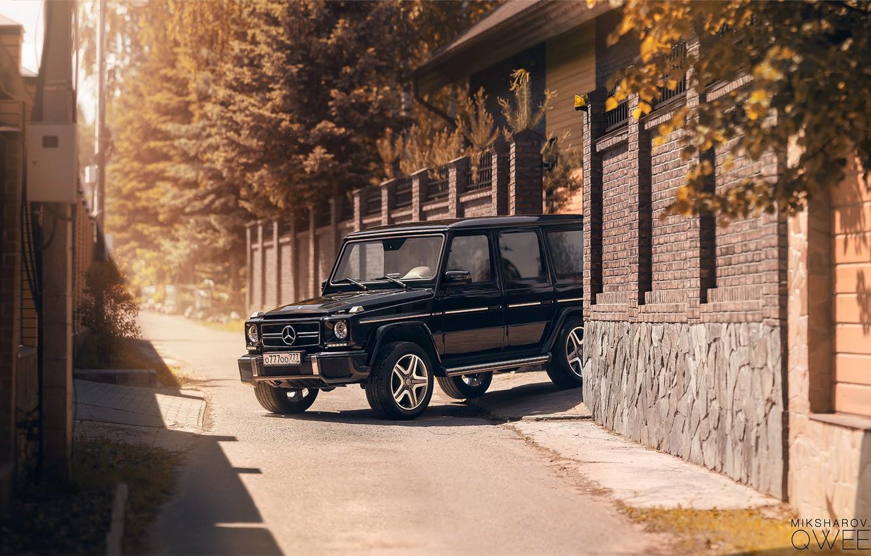 Photo wallpaper Auto, Machine, Mercedes, Mercedes Benz, SUV, G-Class, Gelandewagen, Luxury, Mikhail Sharov, Transport & Vehicles, by …