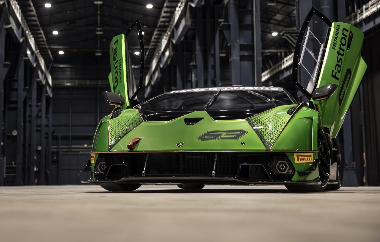 Photo wallpaper Lamborghini, 2021, Essence, SCV12, Lamborghini Essence, HangarBicocca