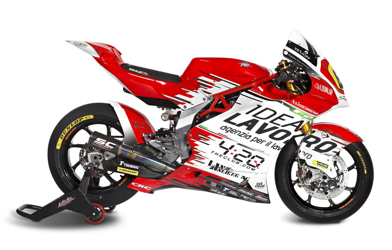 Photo wallpaper Red, MV Agusta, Motorsport, Sportbike