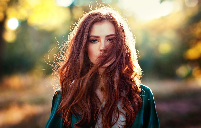 Wallpaper girl, photo, photographer, model, redhead, portrait ...