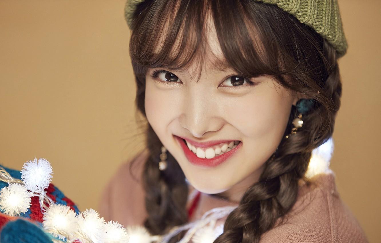 Photo wallpaper Girl, Music, Kpop, Twice, Nayeon, Merry and Happy