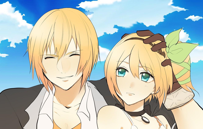 Photo wallpaper anime, art, girl, guy, Tales Of Zestiria