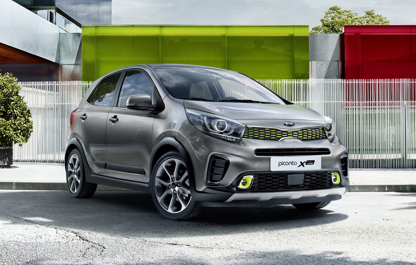 Photo wallpaper morning, Kia, kia, pikanto, picanto