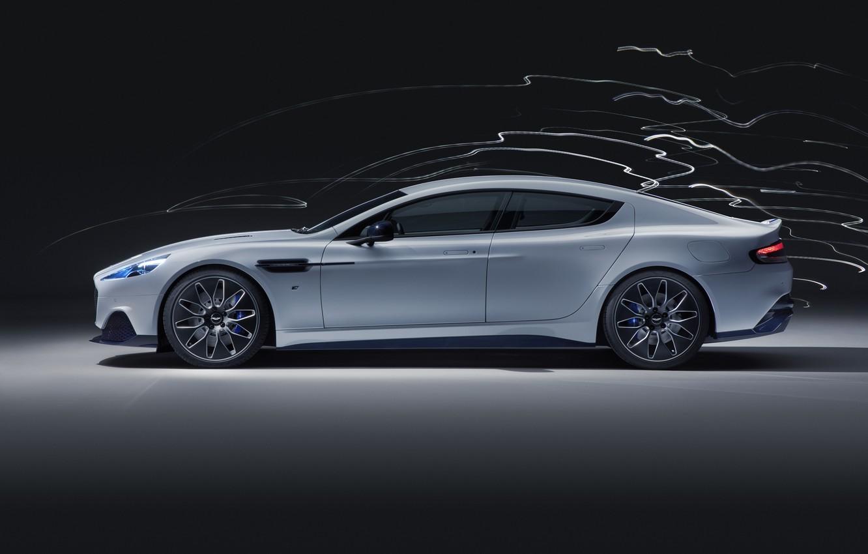 Photo wallpaper Aston Martin, Rapide, side view, 2019, Fast E