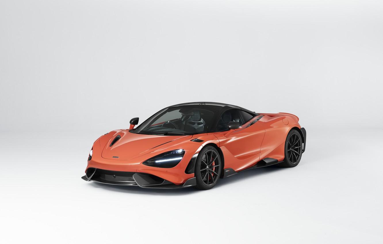 Photo wallpaper McLaren, supercar, UK-spec, 2020, 765LT
