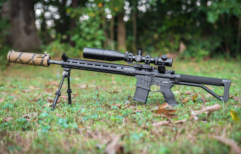 Photo wallpaper weapons, rifle, weapon, custom, M16, ar-15, assault rifle, m16, assault Rifle, ar-15, ar 15, ar …