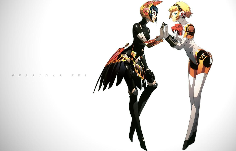 Photo wallpaper girls, the game, anime, art, cyborgs, person, Persona