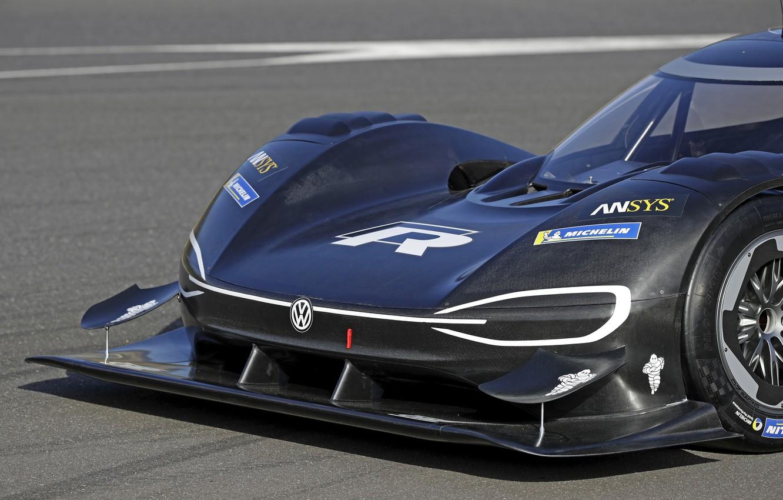 Photo wallpaper black, Volkswagen, prototype, prototype, 2018, the front part, I.D. R