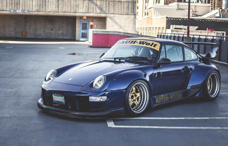 Photo wallpaper Porsche, 993, RWB, Porsche 993 RWB