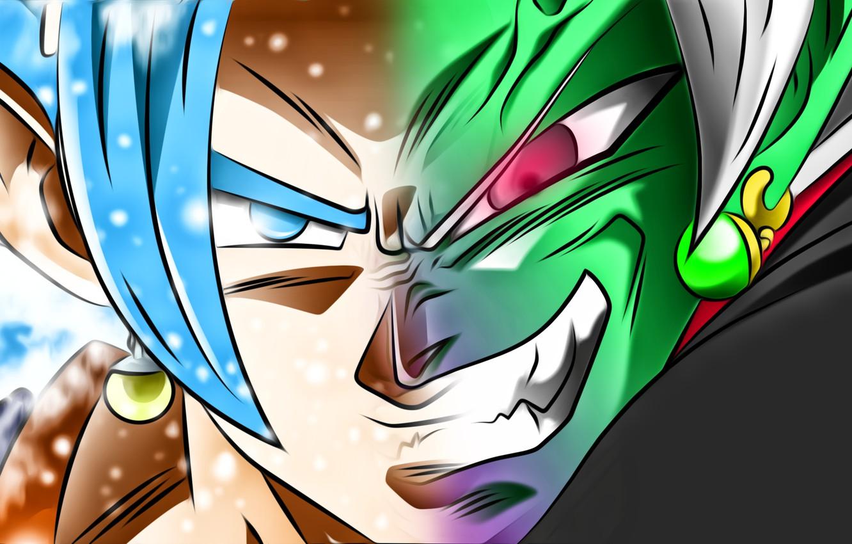 Wallpaper Goku Vegeta Super Saiyan Blue Dragon Ball Super
