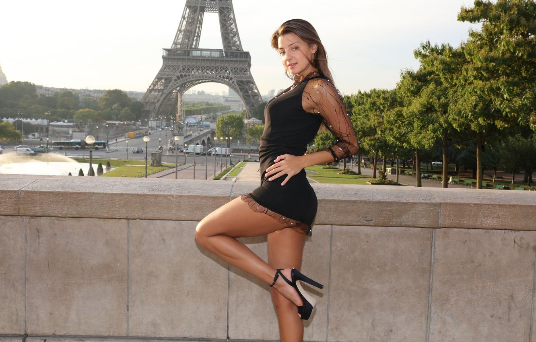 Photo wallpaper look, sexy, pose, hair, beauty, dress, Maria Ryabushkina, Ekaterina Kozhevnikova