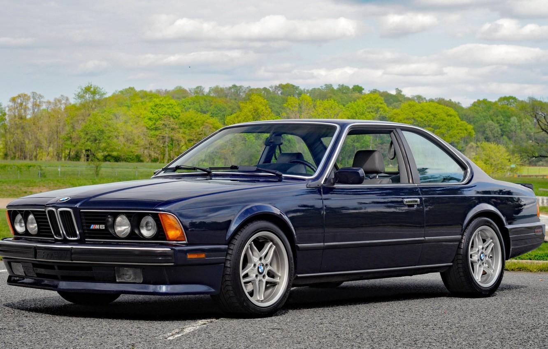 Photo wallpaper BMW, E24, m6