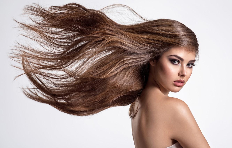 Wallpaper Look Girl Background Sweetheart Hair Images For Desktop Section Devushki Download