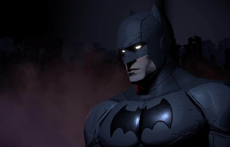 Photo wallpaper batman, mask, game, dark knight, hero, mask, DC Comics, uniform, Telltale Games, guardian, batsuit, Batman …