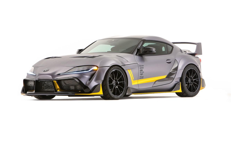 Photo wallpaper Concept, Toyota, Supra, 3000GT, 2019, GR Above, A90, SEMA 2019