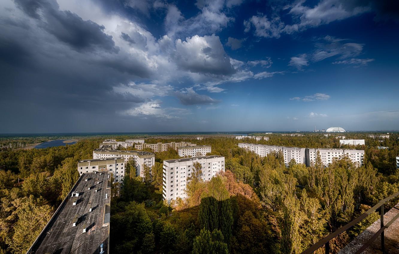 Photo wallpaper Pripyat, Ukraine, The Chernobyl exclusion zone