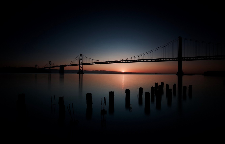 Photo wallpaper California, San Francisco, Pier