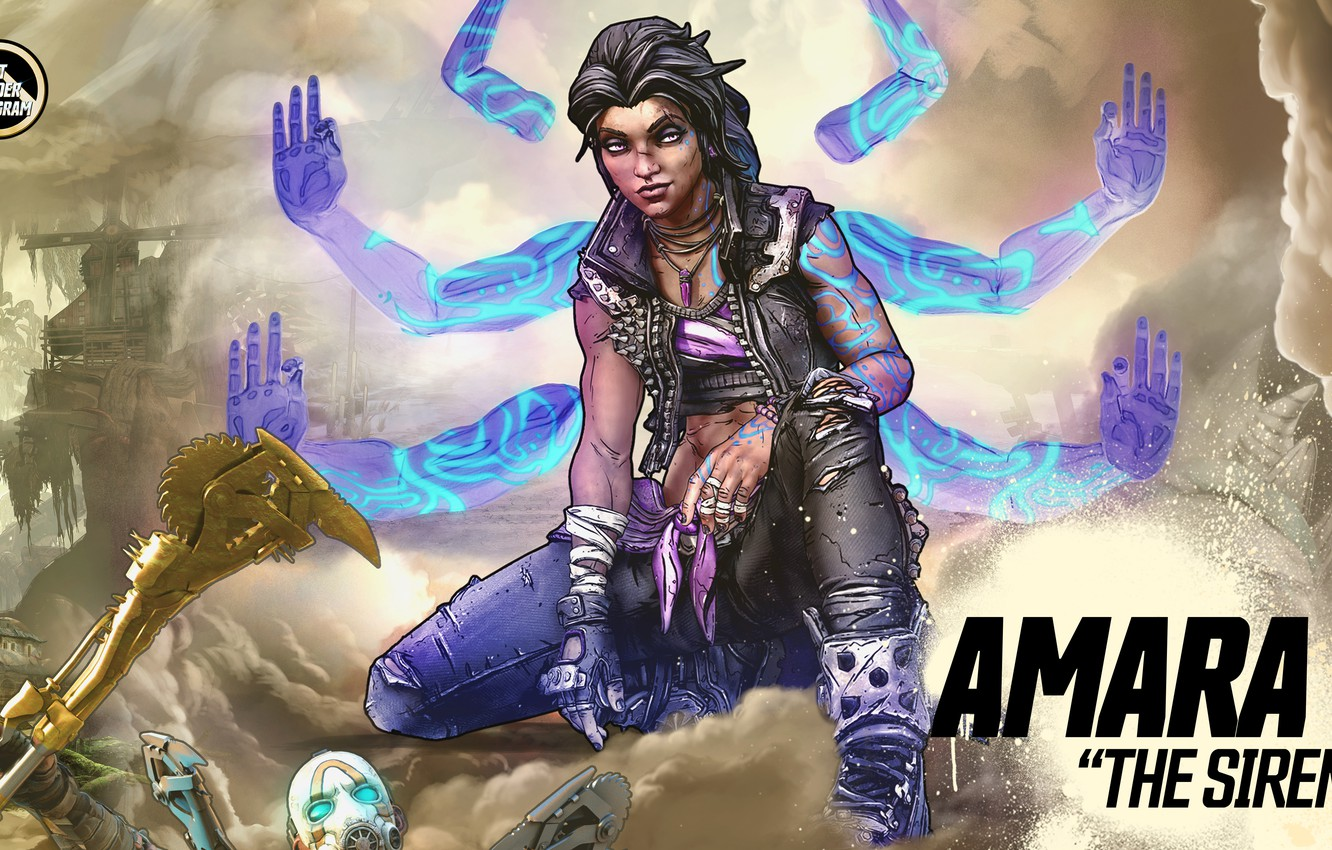Borderlands 3 Amara Wallpaper Iphone