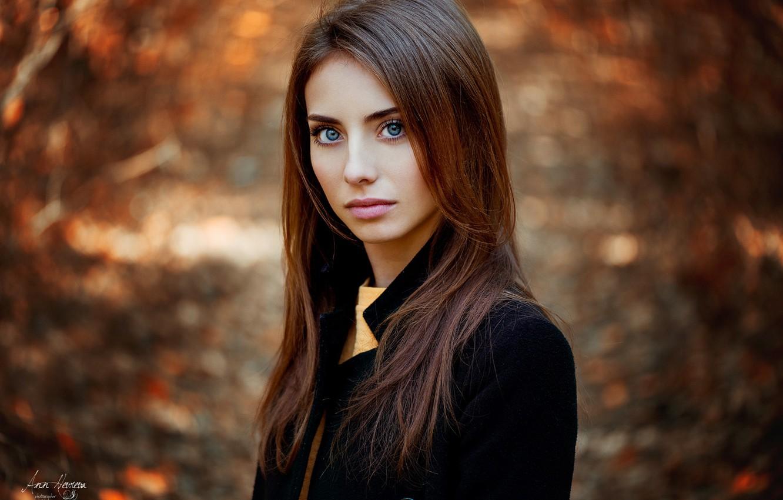 Photo wallpaper autumn, look, girl, Natalia, Ann Nevreva
