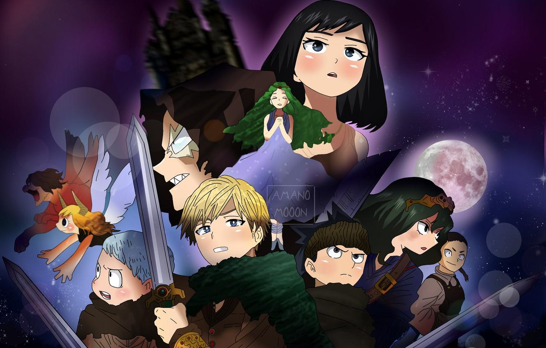 Photo wallpaper sword, characters, My Hero Academia, Boku No Hero Academy, My Hero Academy