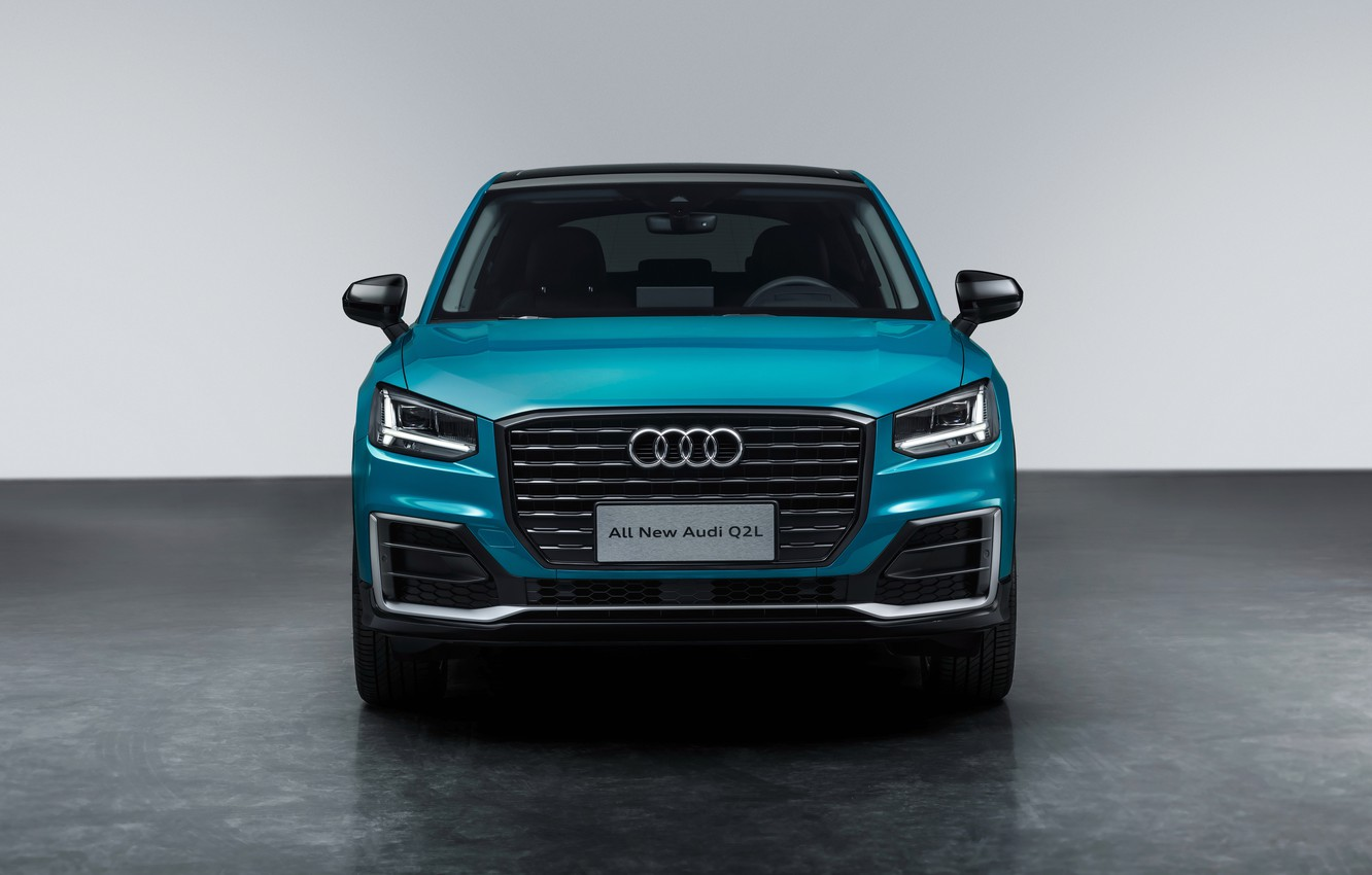 Photo wallpaper front view, Quattro, 2018, crossover, 35 TFSI, Audi Q2, Q2L