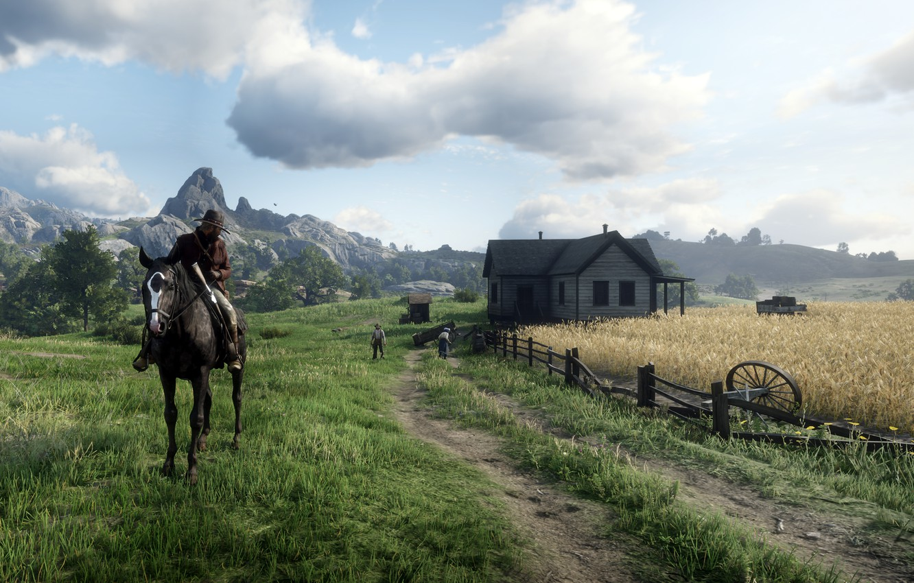 Wallpaper Background The Game Red Dead Redemption Ii Images For Desktop Section Igry Download