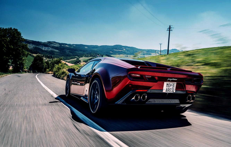 Photo wallpaper coupe, V10, on the road, De Tomaso Pantera, Hurricane, Lamborghini Huracan, 2020, two-door, Project1, Panther …