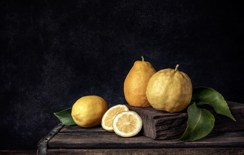 Photo wallpaper food, fruit, lemons