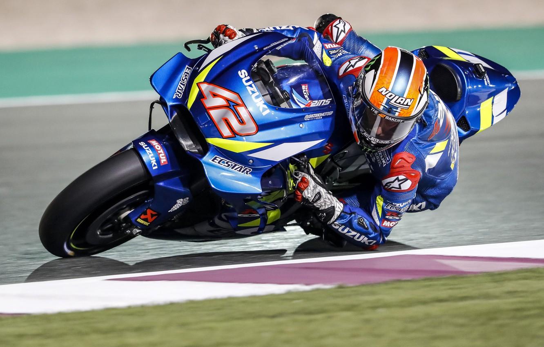 Photo wallpaper Suzuki, MotoGP, Alex Rins