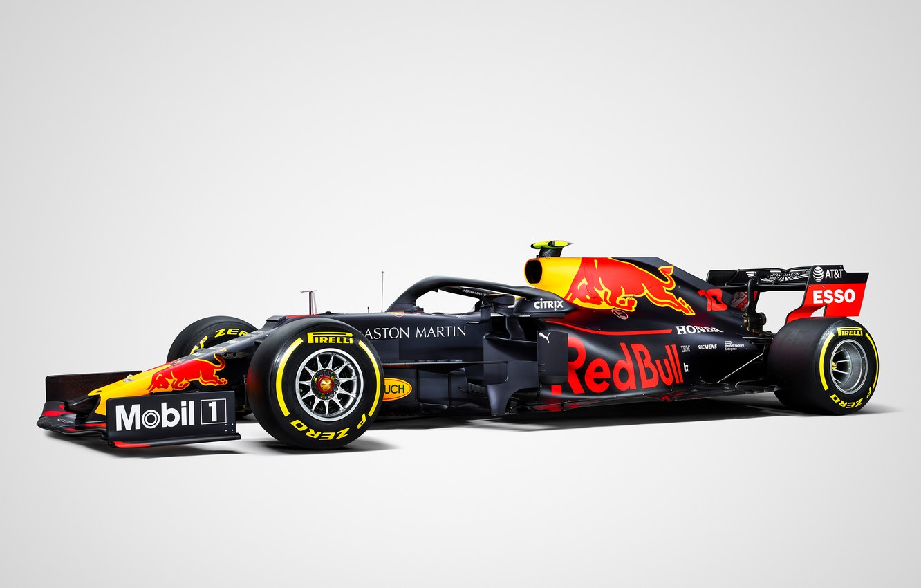 Photo wallpaper sport, Formula 1, Red Bull, simple background, R15, Red Bull R15